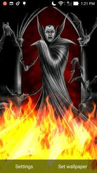 Vampire Blood Fire Flames LWP apk screenshot