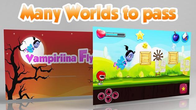 Flying Vampirinaa Halloween apk screenshot