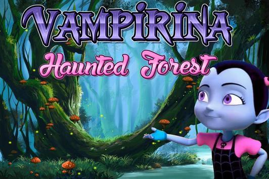Vampirina : Haunted Forest Escape Run poster