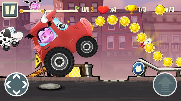 Adventure Vampirina's Racing Dark screenshot 2