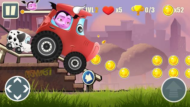 Adventure Vampirina's Racing Dark screenshot 3