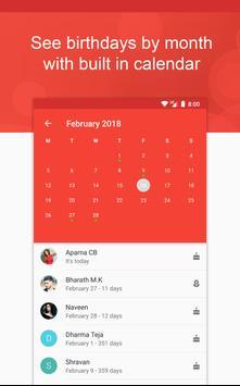 Birthday App - Birthday Reminder, Photo frames apk screenshot