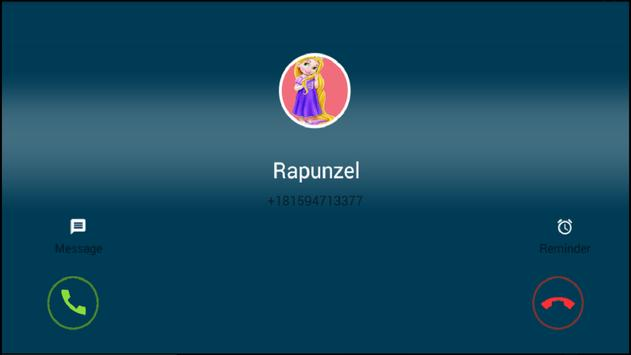 Call From Princess Rapunzel screenshot 1