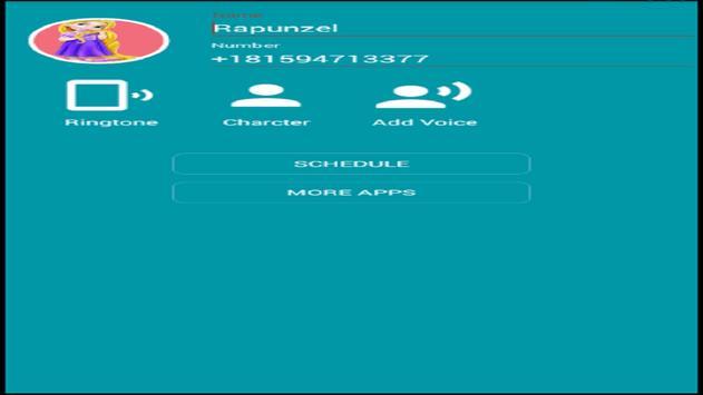 Call From Princess Rapunzel screenshot 2