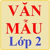 Văn mẫu lớp 2 icon