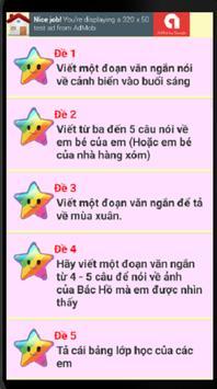 Văn mẫu lớp 2 apk screenshot
