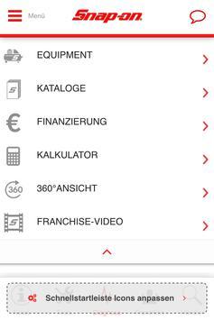 Snap-On Tools Deutschland poster