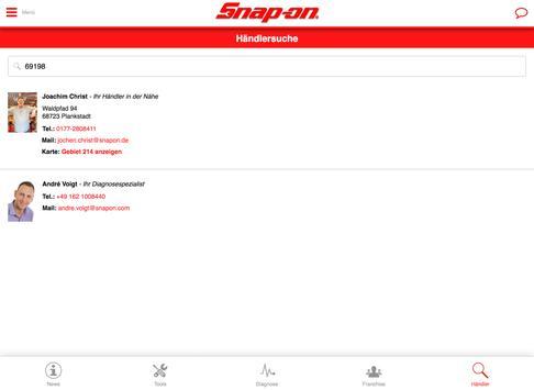 Snap-On Tools Deutschland screenshot 12