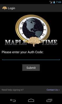 MapleTime Server Status poster
