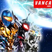 Ultimate robot alliance alien power battle galaxy icon