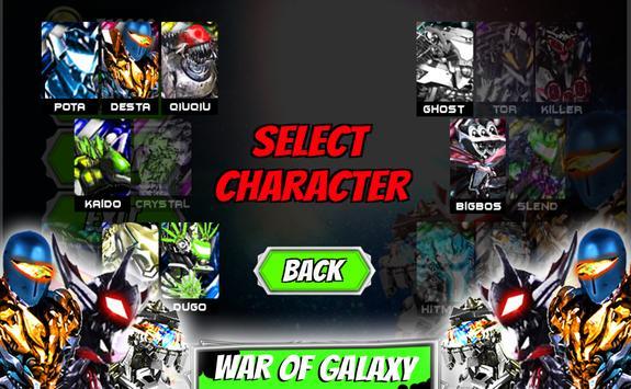 Ultimate robot alliance alien power battle galaxy poster
