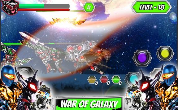 Ultimate robot alliance alien power battle galaxy screenshot 14