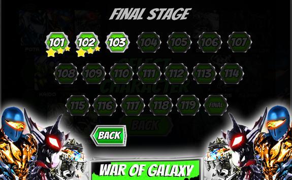 Ultimate robot alliance alien power battle galaxy screenshot 1