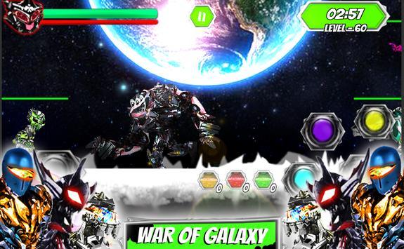 Ultimate robot alliance alien power battle galaxy screenshot 4