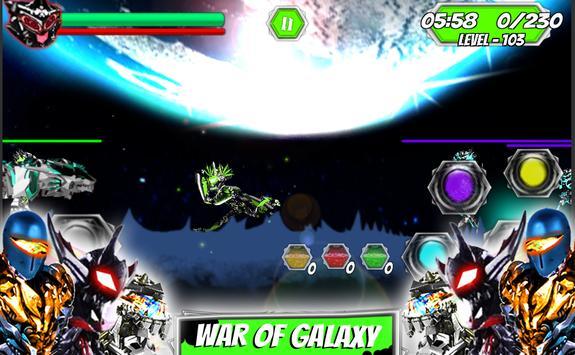Ultimate robot alliance alien power battle galaxy screenshot 5