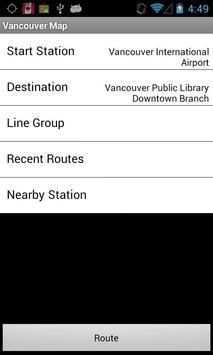 Vancouver Map apk screenshot