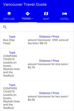 Vancouver Travel Guide apk screenshot