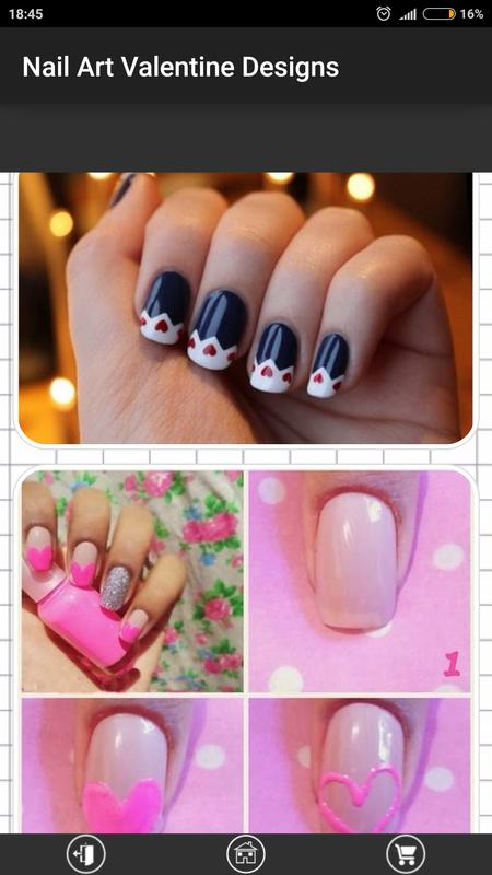 Nail Art Valentine Designs APK Download - Free Lifestyle APP for ...