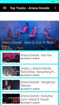Ariana Grande Songs and Videos apk screenshot