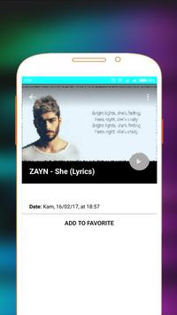 Zayn Malik Songs and Videos screenshot 5