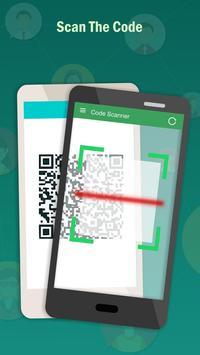 Code Scanner: Whatscan, Whats Web poster