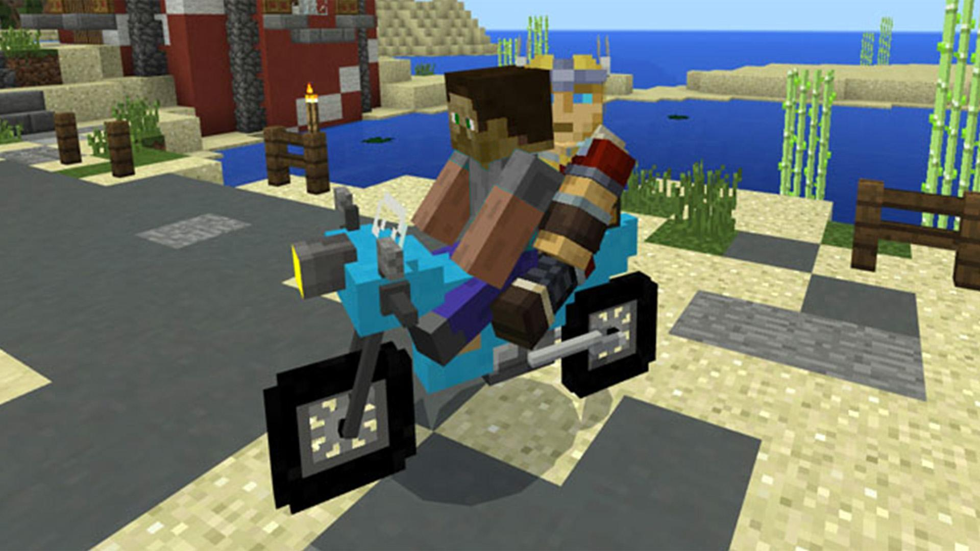 Vanilla Vehicles Mod / Addon for Minecraft PE for Android