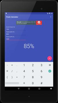 Finals Calculator apk screenshot