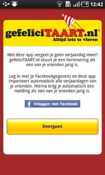 gefeliciTAART.nl apk screenshot
