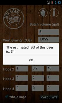 IBU Calc- Hops Calculator screenshot 1