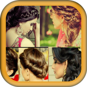 Indian Women Hairstyles icon