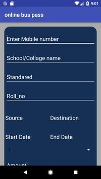 Online Buss Pass System screenshot 6