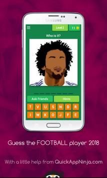 Guess FOOTBALL player 2018 screenshot 1