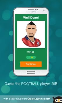 Guess FOOTBALL player 2018 screenshot 2
