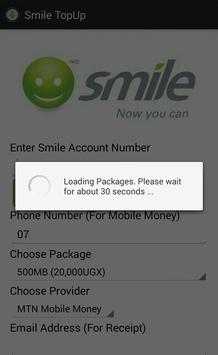Smile TopUp apk screenshot