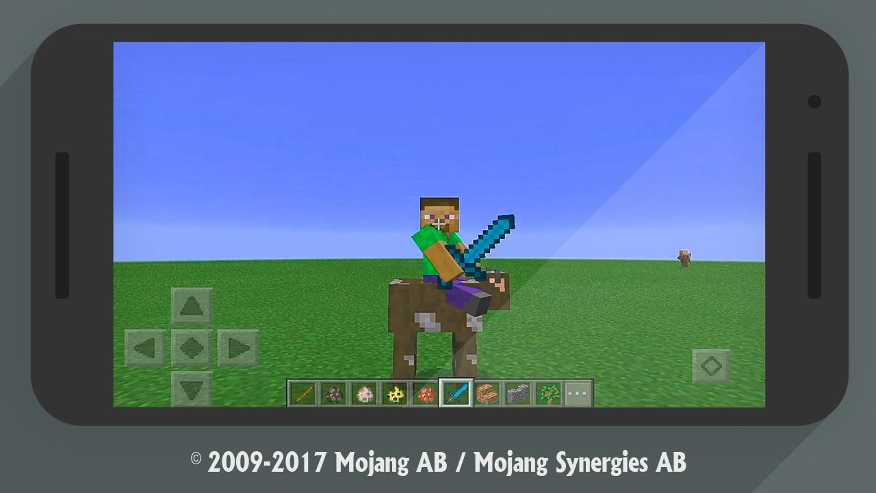 Minecraft addon All Mobs Rideable for Android - APK Download
