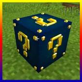 Lucky Block Race MCPE addon multiplayer icon