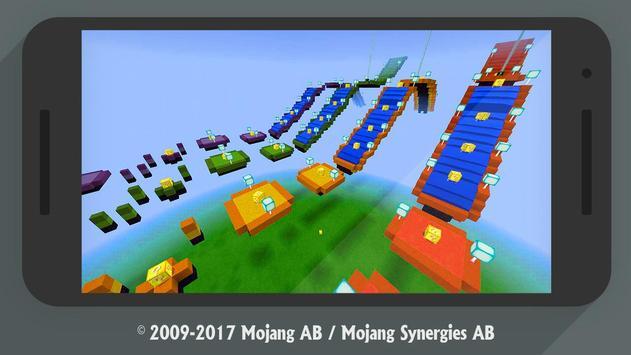 Lucky Block Race MCPE addon multiplayer screenshot 2