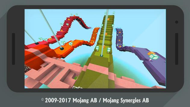 Lucky Block Race MCPE addon multiplayer screenshot 8