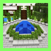 Your Own Modern House. Map for MCPE icon