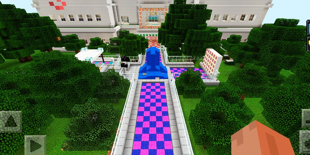 New High School Adventure  Map for MCPE for Android - APK