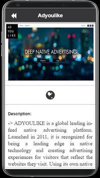 Mobile Ad Provider 2018 screenshot 4