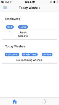 Vapor Express Car Wash Employee apk screenshot