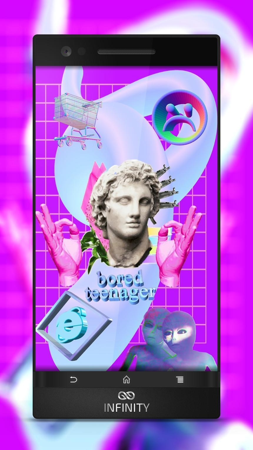 Vaporwave Wallpaper poster ...