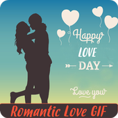 Romantic Love Gif icon