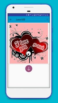 Romantic Love Gif apk screenshot