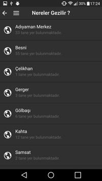 Adıyaman Mobil Gezi Rehberi apk screenshot