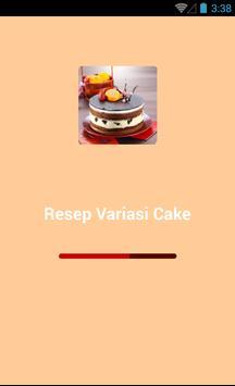 Resep Variasi Cake screenshot 1