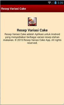 Resep Variasi Cake screenshot 4