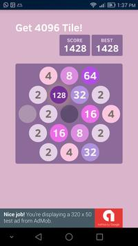 4096 Hexa Go! screenshot 1