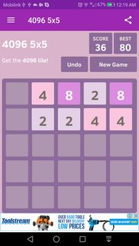 4096 5x5 with Hexa poster